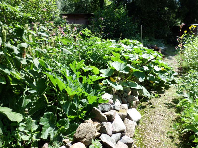 Jeder kann sich in seinem Garten frei entfalten.