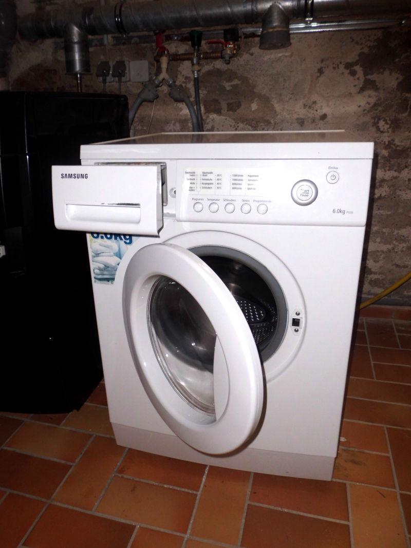 Waschmaschine Garten
