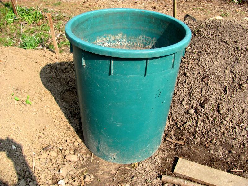 Wasserspeicher Garten