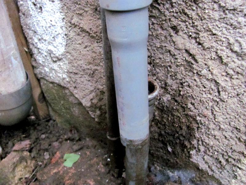 Abflussrohr reparieren 4