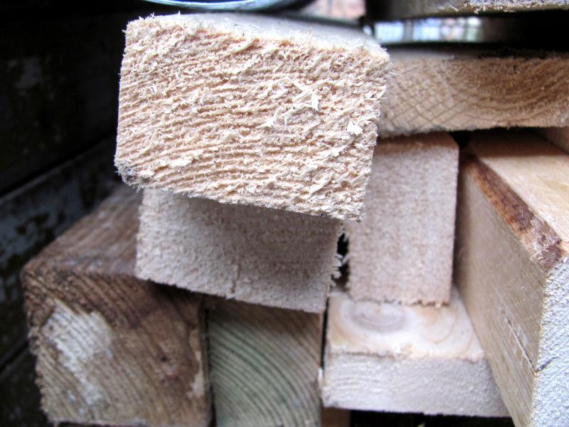 Bauholz für Garten