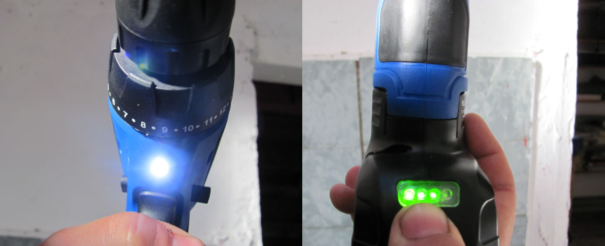 Akku Bohrschrauber LED