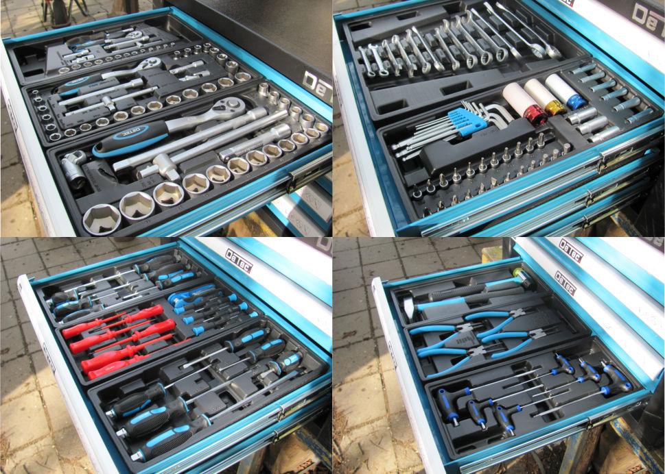 Detec Werkzeugkiste Werkzeug
