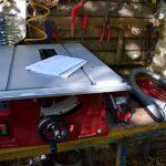Einhell Tischkreissäge TC-TS 2025 eco im Einsatz 1
