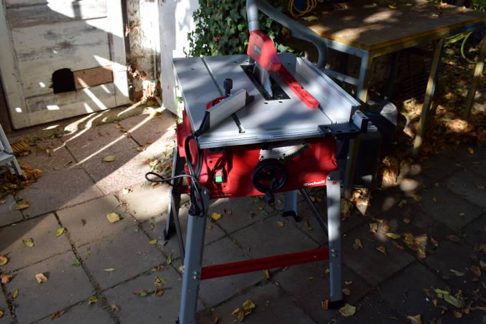 Einhell Tischkreissäge TC-TS 2025 eco im Einsatz 3