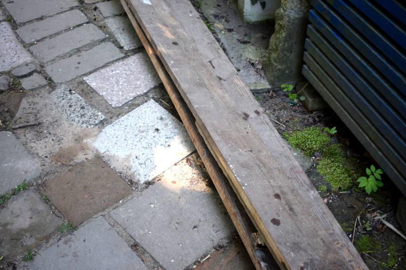 Baustoffe im Garten optimal lagern